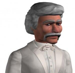 Virtual Mark Twain