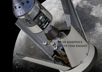 Command Module and LEM in ID